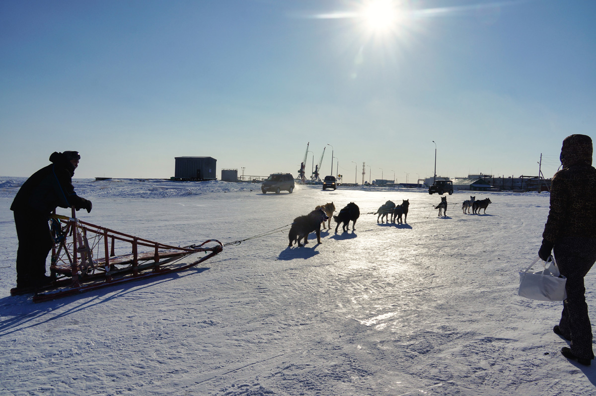 Чукотский транзит (через зимник анадырского Лимана)